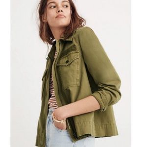 Madewell Army Swing Utility Jacket